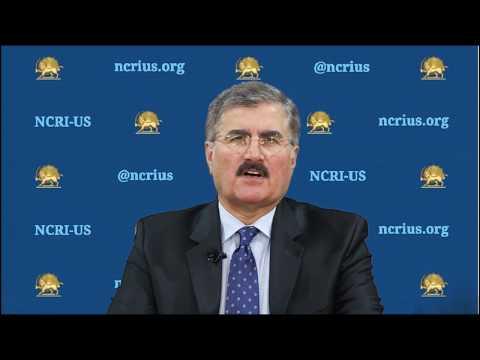 Ali Safavi's Remarks about the Briefing Iran COVID 19 Crisis-NCRI US- April 8, 2020