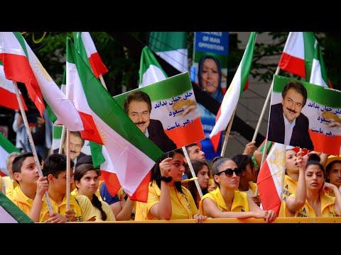 MEK's 'Free Iran' rally outside the White House - June 21, 2019