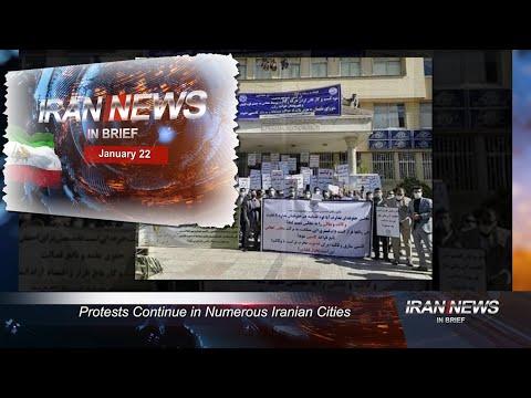 Iran news in brief, January 22, 2021