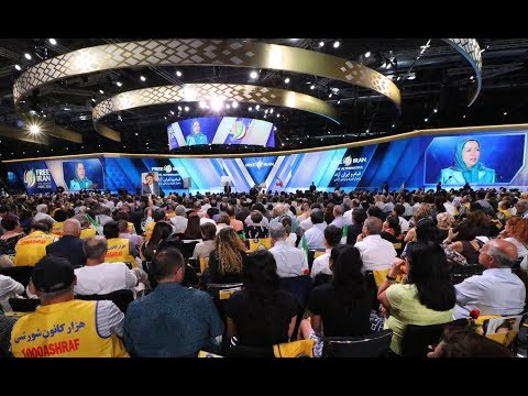 Free Iran 2018 Gathering - 30 June 2018 - Villepinte, Paris