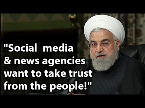Rouhani complains about the MEK exposing the regime's cover-up of the coronavirus death toll in Iran
