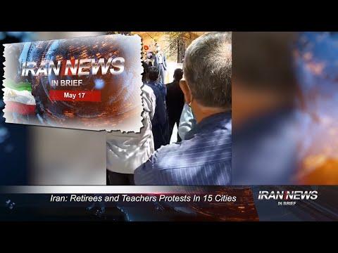 Iran news in brief, May 17, 2021