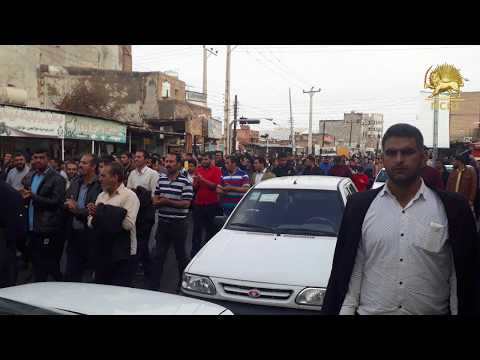 Iran 20th consecutive day of protests by workers of Haft Tapeh sugar mill
