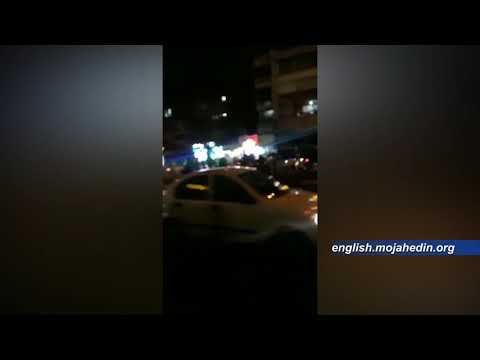 """Protesters in Tehran chant """"Death to dictator"""" and call for regime change in Iran"""