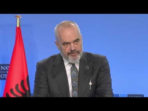 Albania will continue to shelter Mojahedin (PMOI/MEK) - PM Edi Rama tells NATO press conference