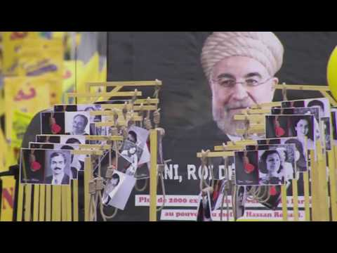 IRAN: Paris Rally Against Rouhani 28 January 2016