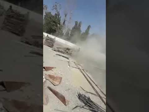 Iranian Farmers protest farmers of Isfahan attaked the regime's water station