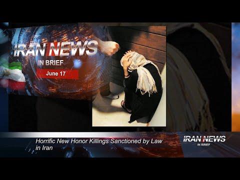 Iran news in brief, June 17, 2020