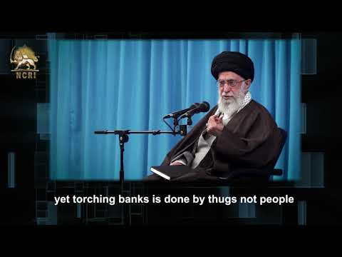 Khamenei, Regime's Supreme Leader Blames the MEK for the Iran Protests