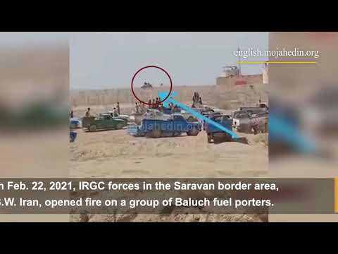IRGC forces kill Baluch fuel porters in Saravan, protests ensue