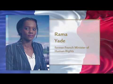 Rama Yade Nothing can put out the light of hope in your eyes