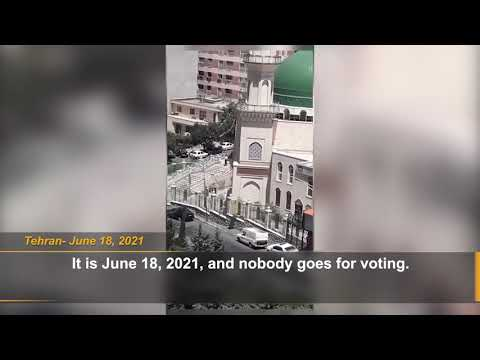 Iran election: Footages from Tehran indicate vast election boycott by the Iranian people