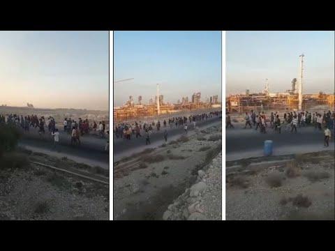 اعتصاب مجدد کارگران پروژهای شاغل در فاز ۱۴ پارس جنوبی