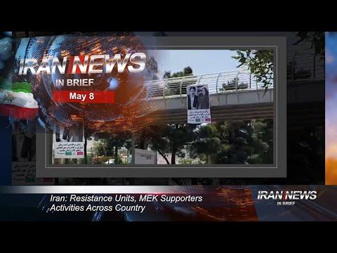 Iran news in brief, May 8, 2020