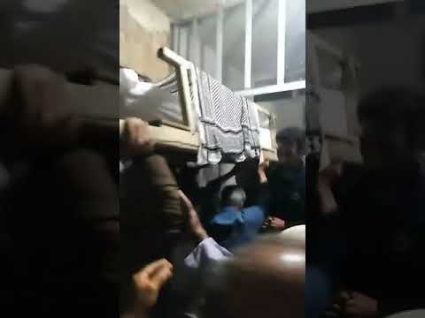 فیلمی از جنازه پدررامین حسینی ۱۴۰۰۰۶۲۴