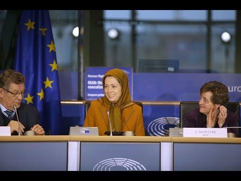 Maryam Rajavi's speech at the European Parliament - December 6, 2017