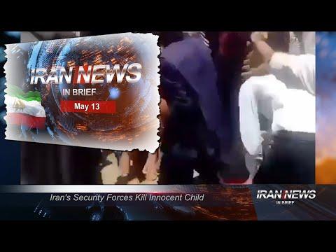 Iran news in brief, May 13, 2021