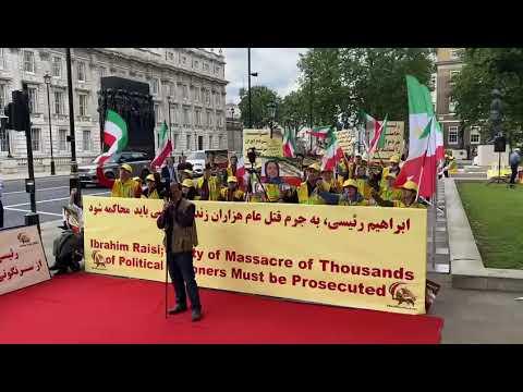 تظاهرات ایرانیان آزاده در اتریش