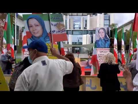 تظاهرات ایرانیان آزاده در برلین- سه شنبه ۱۲ مرداد