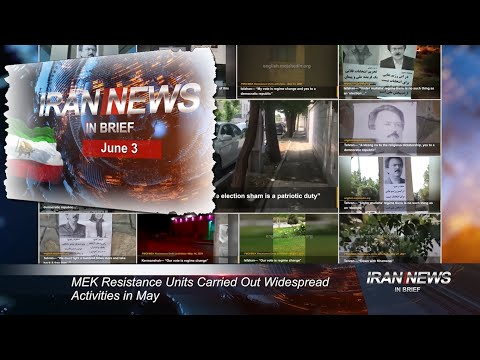 Iran news in brief, June 3, 2021