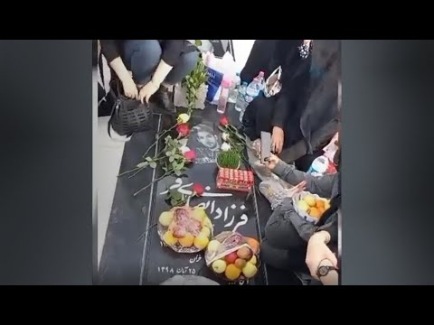 Behbahan, Kamis terakhir tahun 99, di kuil martir Farzad Ansarifar