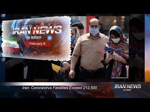 Iran news in brief, February 8, 2021