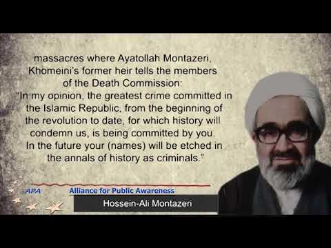 1988 Massacre of Political Prisoners In Iran - A Crime Against Humanity