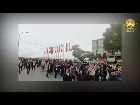 Iran: 18TH Day of Strike by steel workers of Ahvaz