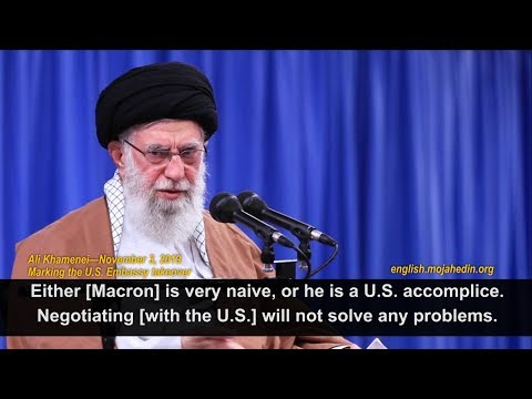 Khamenei lashes Macron, rejects negotiations with U.S. on Iran nuclear program and JCPOA
