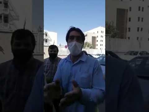 تجمع اعتراضی مصالح فروشان تبریزی