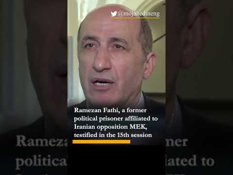 Hamid Nouri trial: Ex-political prisoner testifies on crimes of regime authorities in Iran's prisons