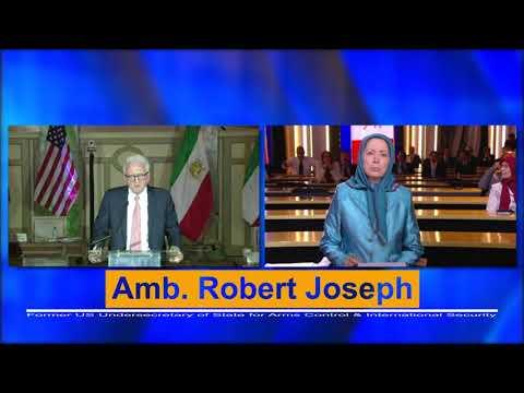 Robert Joseph: Maryam Rajavi's 10-point plan ensures a non-nuclear, democratic, and free Iran.