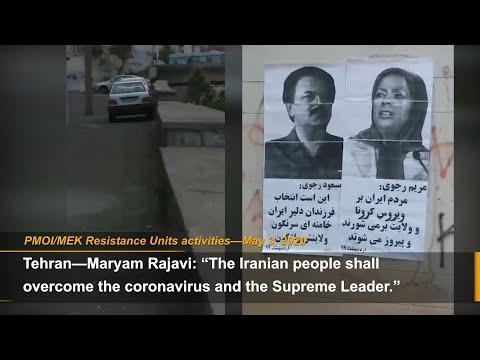 """The Iranian people will overcome the coronavirus & Khamenei,""-MEK Resistance Units"