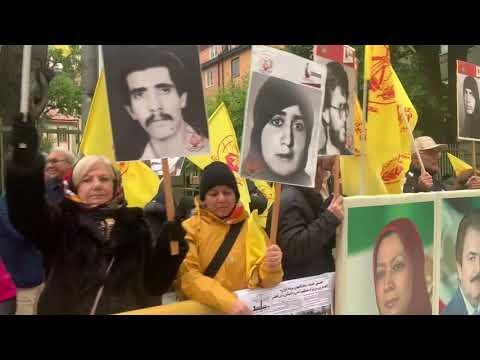 هجدهمین روز دادگاه دژخیم حمید نوری و تظاهرات ایرانیان آزاده و هواداران سازمان مجاهدین در استکهلم
