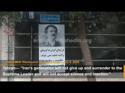 """""""Democracy and freedom with Maryam Rajavi"""" : MEK Resistance Units"""