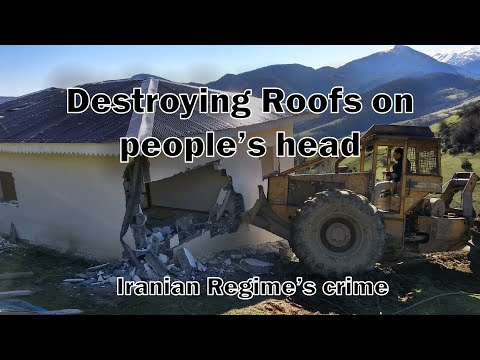 Destroying roofs on people's head: Iranian regime security forces crime amid Iran coronavirus crisis