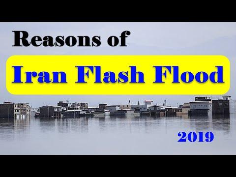 Iran Flash floods 2019 overtake Golestan & Mazandaran provinces