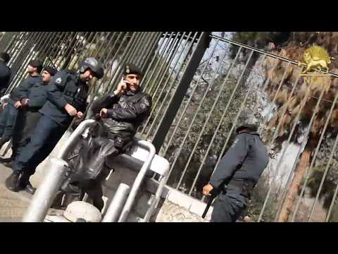 Iran: Tehran students hold the third consecutive day of their protests