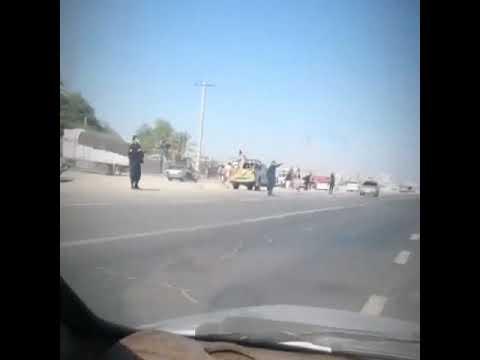 ایرانشهر درگیری نیروهای سرکوبگر رژیم با مردم منطقه کلاهدوز ۹۹۱۱۰۵ 3
