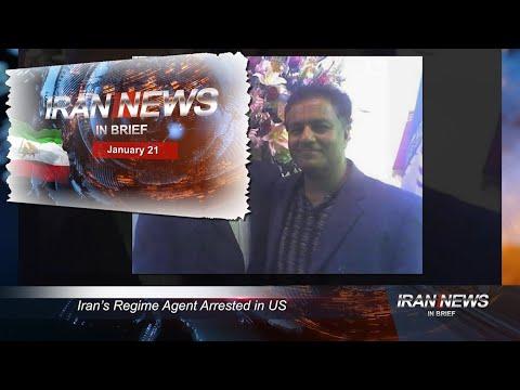 Iran news in brief, January 21, 2021