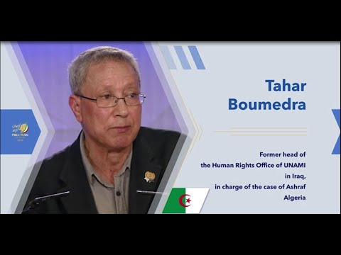 Taher Boumedra's remarks on Day 2 of the Free Iran Global Summit – July 19, 2020