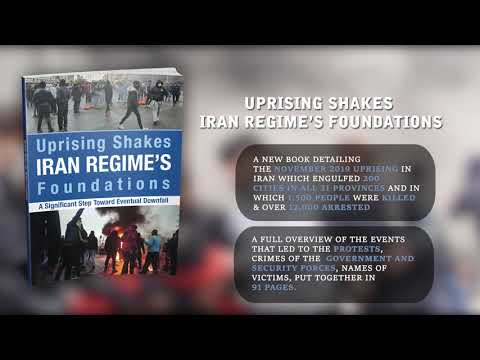 NCRIUS new book Iran Uprising Shakes Iran Regime's Foundations