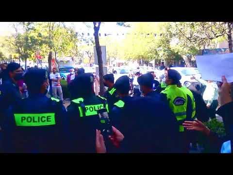 مشهد-اعتراض سراسری معلمان با شعار زندانی سیاسی آزاد باید گردد