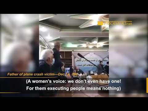 Iran: Families of passengers of Ukrainian plane downed by IRGC missile demand justice for victims