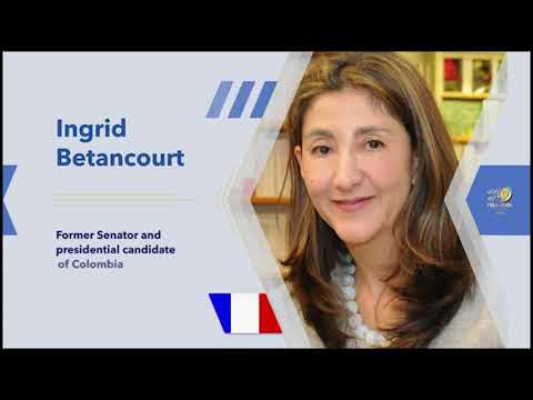 Ingrid Betancourt's remarks the Free Iran Global Summit – July 17, 2020