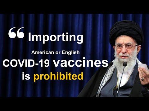 Ali Khamenei bans the import of coronavirus vaccine to Iran