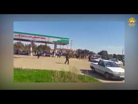 KHUZESTAN, Iran, Mar.4, 2018. The security forces attacked Protest gathering of unemployed youth