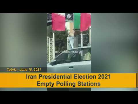 Multiple reports from the Iran election in Tabriz show that polling stations are empty