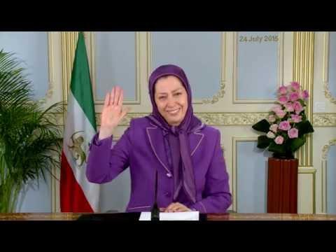 Message of Maryam Rajavi to U S House of representatives briefing July 24, 2015