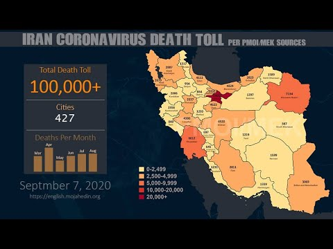 In memory of 100,000 unknown victims of the Coronavirus in Iran